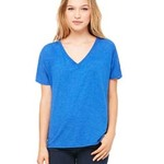 Ladies' Slouchy V-Neck T-Shirt
