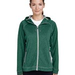 Ladies' Excel Mélange Performance Fleece Jacket